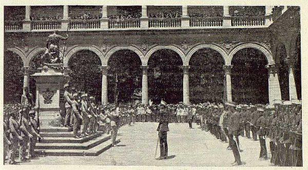009_TRA-1920-147-La Bandera del Inmemorial en el Mueso de Infantería-Foto Rodríguez