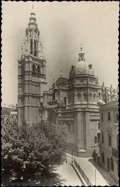 01 - 1930 ca - 006_7 - Toledo - La Catedral