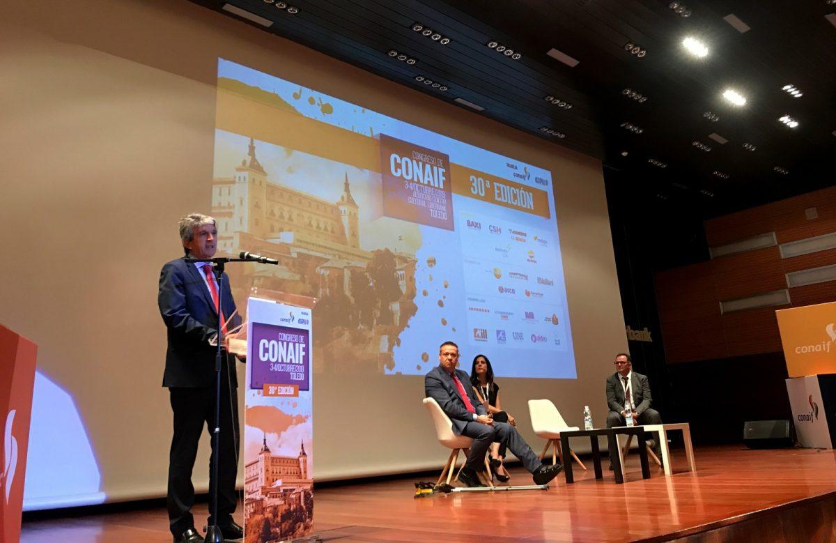 http://www.toledo.es/wp-content/uploads/2019/10/01-congreso-conaif-1200x779.jpg. El Gobierno local respalda el Congreso de CONAIF que se celebra en Toledo entre hoy y mañana con más de 300 asistentes