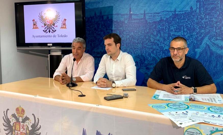 http://www.toledo.es/wp-content/uploads/2019/10/01-presentacion-dia-municipal-bicicleta.jpg. Mayores y pequeños podrán participar el próximo domingo en el XXII Día Municipal de la Bicicleta y el VI Día del Patín