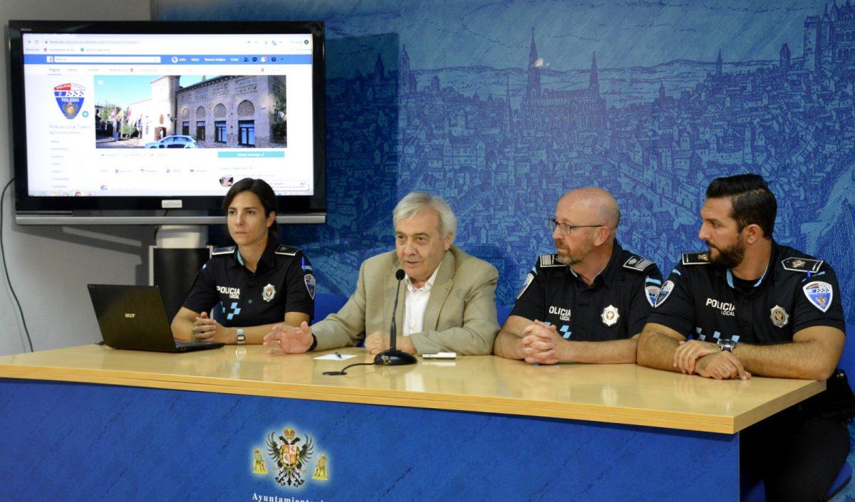 http://www.toledo.es/wp-content/uploads/2019/10/01-presentacion-facebook-policia-1200x705.jpg. La Policía Local de Toledo acerca su trabajo a la ciudadanía y estrena página de Facebook como nuevo canal de información