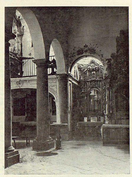0190_TRA-1923-192-Iglesia de San Andrés, interior-Foto Clavería