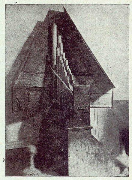 019_TRA-1923-202-Convento de San Juan de la Penitencia. órgano de Cisneros-Foto Merklin