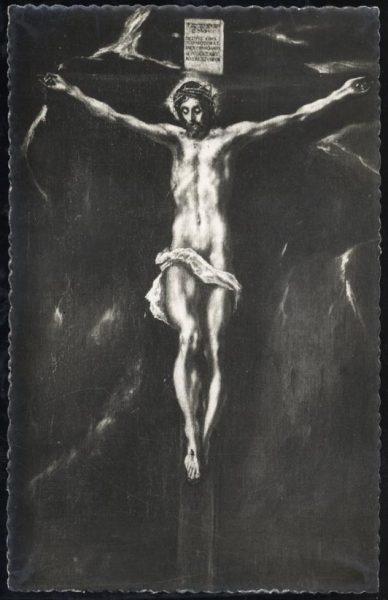 02 - 043 - Toledo - Museo del Greco. Cristo en la Cruz (Greco)