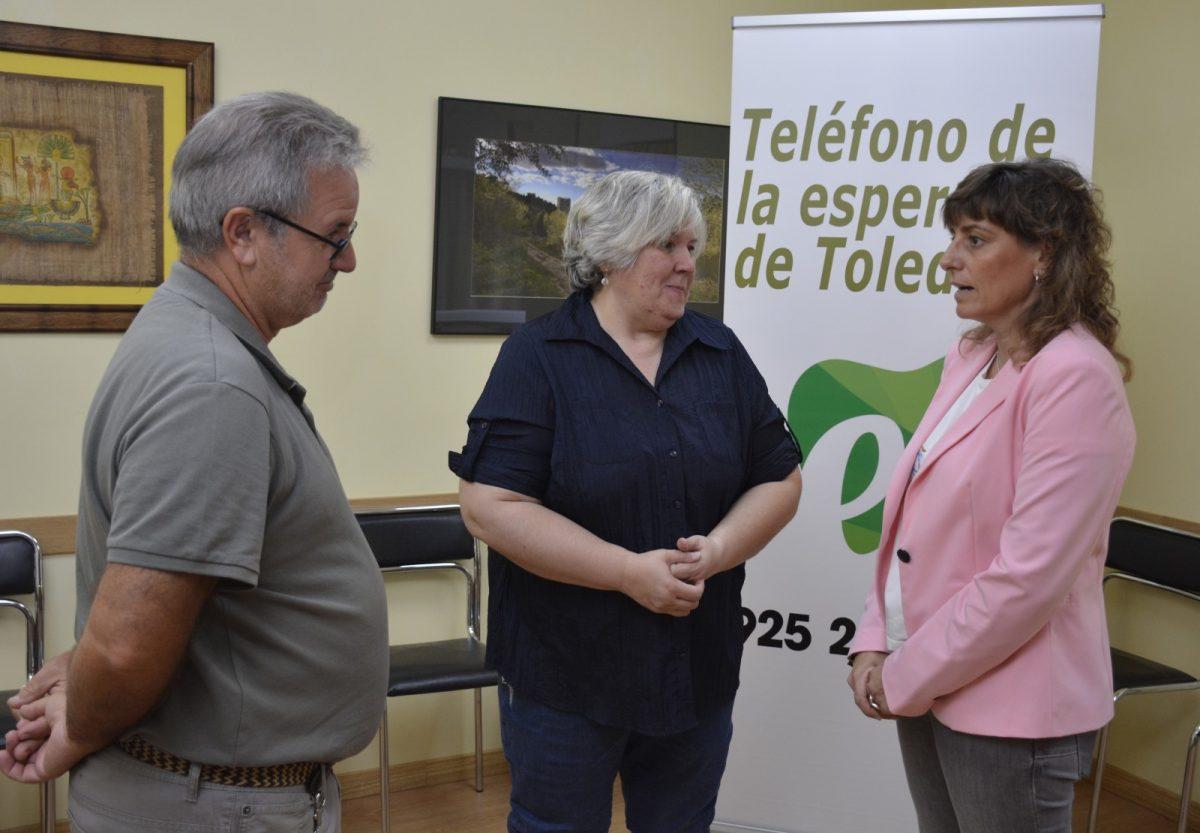 http://www.toledo.es/wp-content/uploads/2019/10/02-encuentro-telefono-esperanza-1200x833.jpg. El Gobierno local traslada su apoyo y colaboración a diferentes entidades sociales con sede en el Parque de la Integración