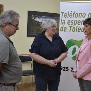 l Gobierno local traslada su apoyo y colaboración a diferentes entidades sociales con sede en el Parque de la Integración
