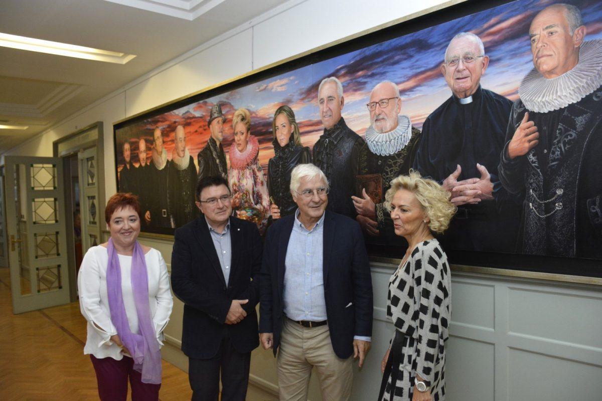 http://www.toledo.es/wp-content/uploads/2019/10/02-homenaje-juan-sanchez-1200x800.jpg. El Ayuntamiento se suma al homenaje de la Biblioteca de Castilla-La Mancha a su exdirector Juan Sánchez