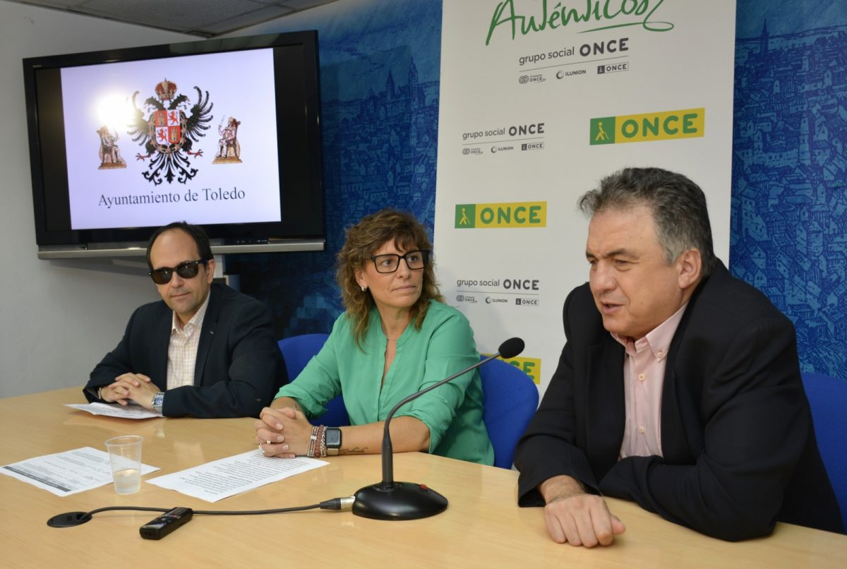 https://www.toledo.es/wp-content/uploads/2019/10/02-presentacion-semana-de-la-once-1200x806.jpg. Toledo acoge del 13 al 18 de octubre la Semana de la ONCE con numerosas actividades para visibilizar la discapacidad visual