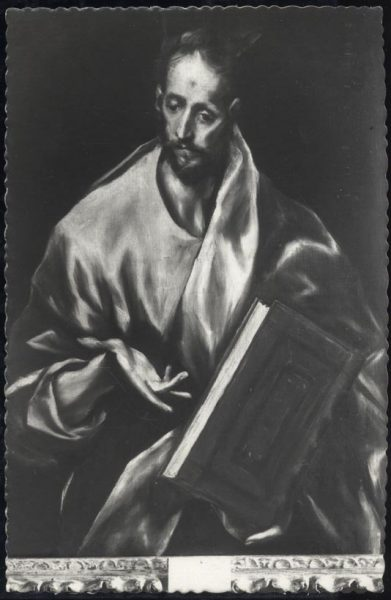 026 - Toledo - Museo del Greco. Santiago el Mayor (Greco)