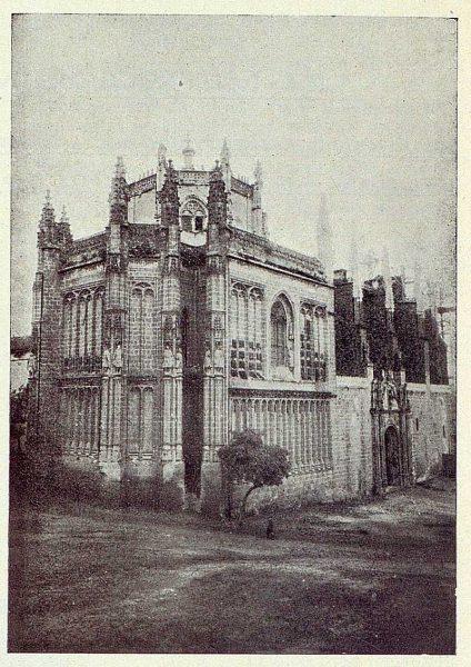 028_TRA-1923-201-Monasterio de San Juan de los Reyes, exterior