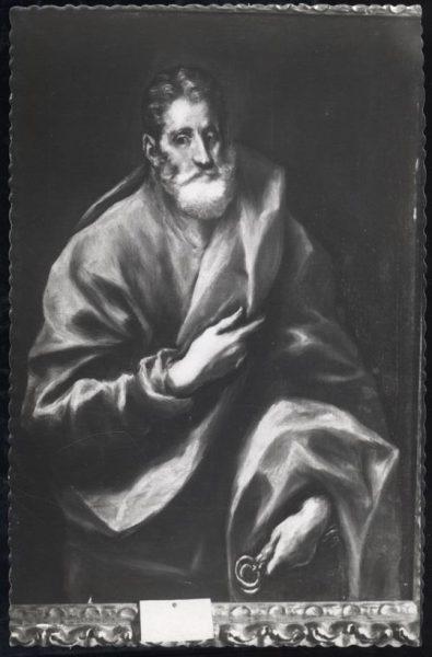 029 - Toledo - Museo del Greco. San Pedro (Greco)