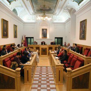 l Pleno del Consejo Escolar de la ciudad de Toledo se reúne en el Ayuntamiento con motivo del inicio del curso académico