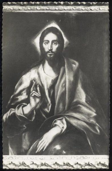 030 - Toledo - Museo del Greco. Jesús (Greco)