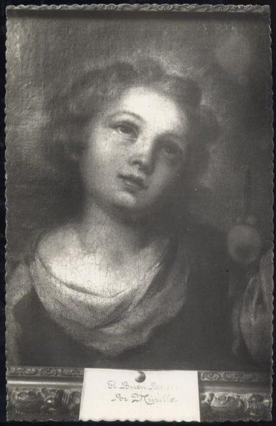 031 - Toledo - Museo del Greco. El Buen Pastor (Murillo)