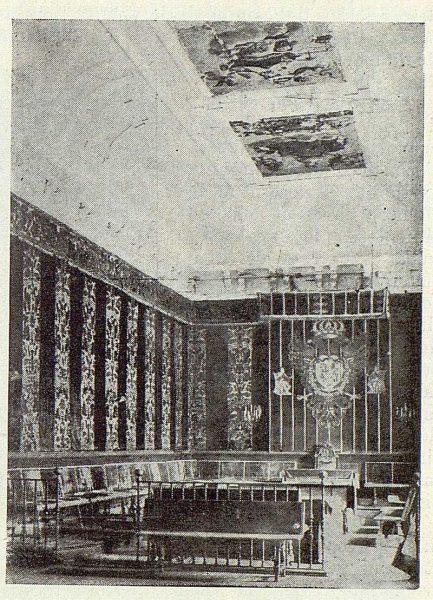 031_TRA-1923-194-Sala Capitular del Ayuntamiento donde se nombró a Federico Latorre académico-Foto Camarasa