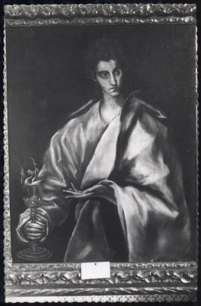 032 - Toledo - Museo del Greco. San Juan Bautista (Greco)