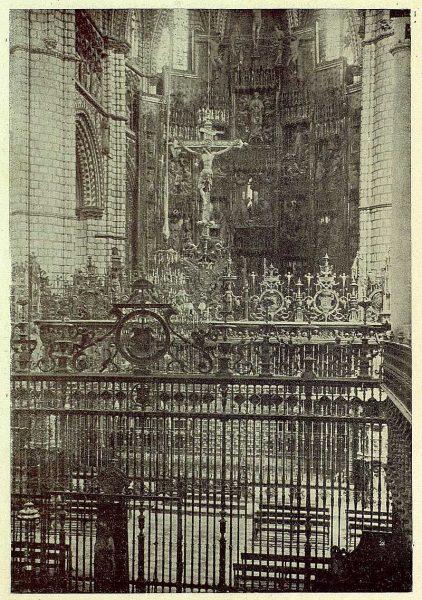 0338_TRA-1930-279-Catedral, rejas del Coro y de la Capilla Mayor-Foto Clavería