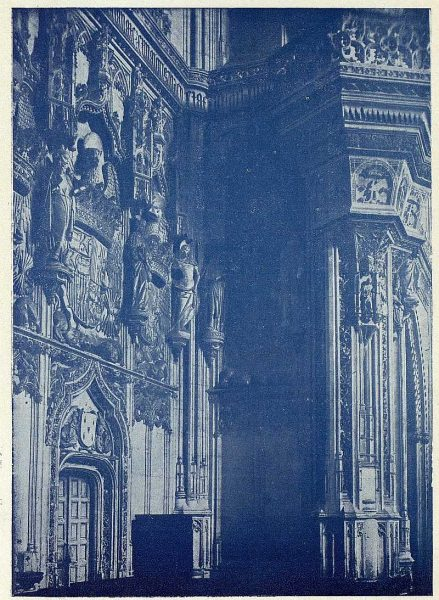 033_TRA-1927-243-Monasterio de San Juan de los Reyes, interior de la iglesia-Foto Rodríguez