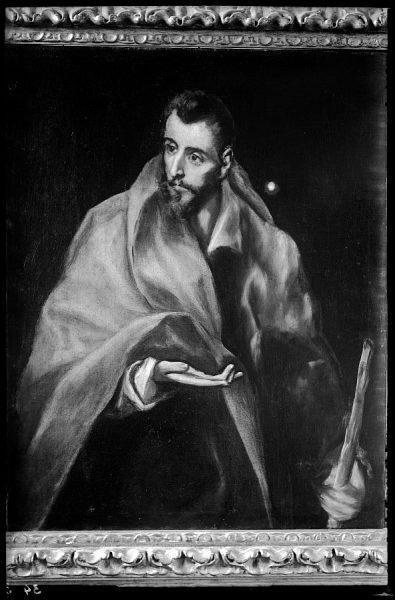 034 - Toledo - Museo del Greco. Santiago el Menor (Greco)