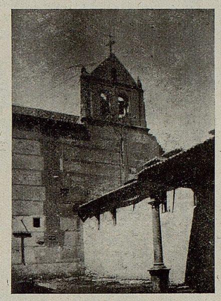 038_TRA-1921-175-Convento de Santo Domingo el Real, espadaña-Foto Camarasa