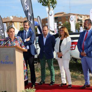a alcaldesa destaca la trayectoria de la Feria del Vehículo de Ocasión y la importancia del sector para el desarrollo económico