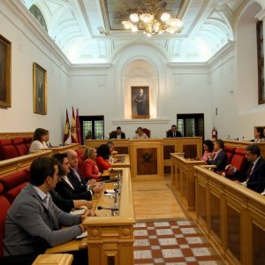 """probado en el Pleno el voto ponderado en las comisiones tras la designación como concejal """"no adscrito"""" de Luis Miguel Núñez"""