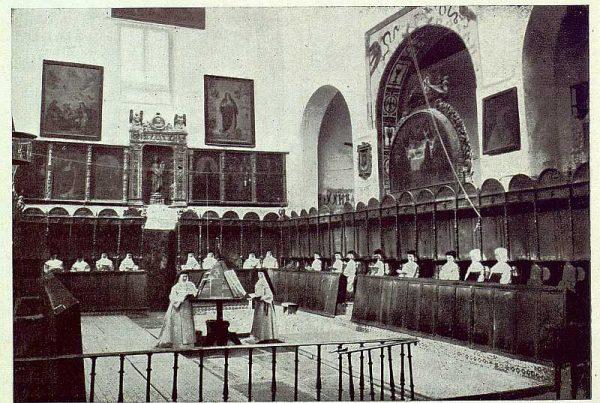 040_TRA-1922-183-Coro del Convento de Santo Domingo el Real-Foto Rodríguez
