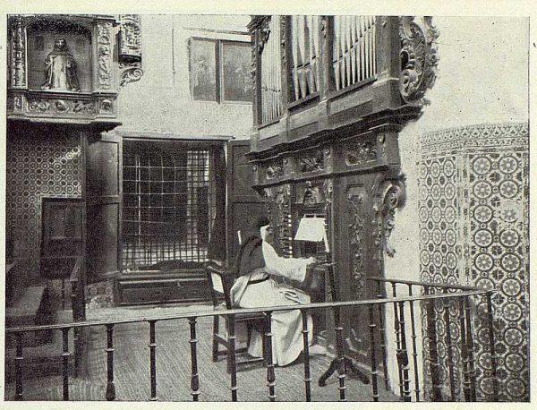 041_TRA-1922-183-Órgano del Convento de Santo Domingo el Real-Foto Rodríguez