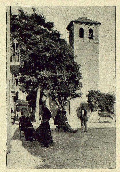 0433_TRA-1930-283-284-Granada, el Albaicín, la plazuela de San Miguel-Foto Milhos
