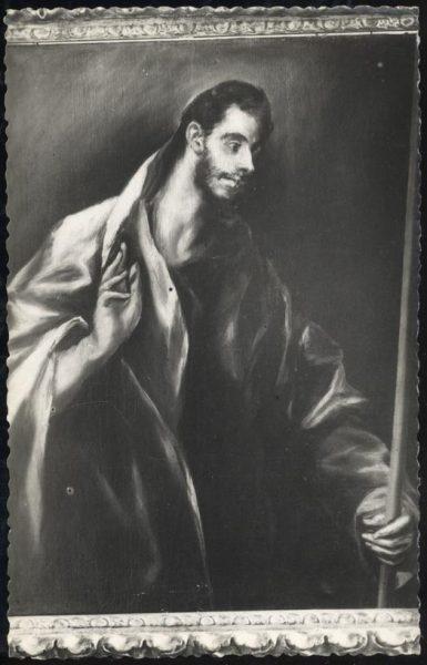 044 - Toledo - Museo del Greco. Santo Tomás (Greco)
