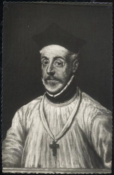 046 - Toledo - Museo del Greco. Obispo Covarrubias (Greco)