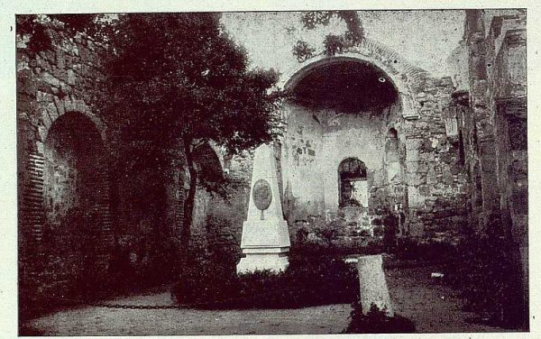 0502_TRA-1922-184-Ruinas del convento de El Castañar-Foto Rodríguez