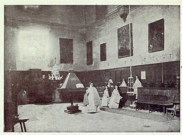 050_TRA-1923-201-Coro de un convento-Foto Tajona