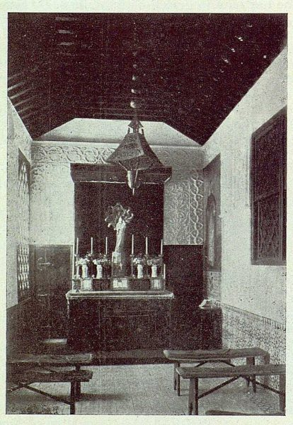 0516_TRA-1922-188-El Sotillo, interior de la capilla-Foto Rodríguez