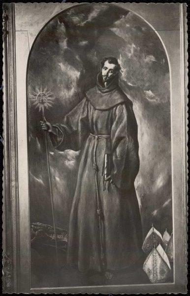 053 - Toledo - Museo del Greco. San Bernardino (Greco)