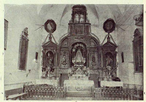 053_TRA-1924-207-Ermita de la Virgen de los Desamparados, retablo