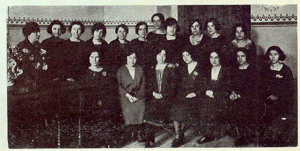 0559_TRA-1923-194-Escuela Normal de Maestras, profesoras y alumnas de cuarto año-Foto Rodríguez