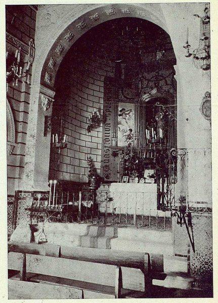 055_TRA-1923-193-Ermita de la Virgen del Valle, interior-Foto Rodríguez