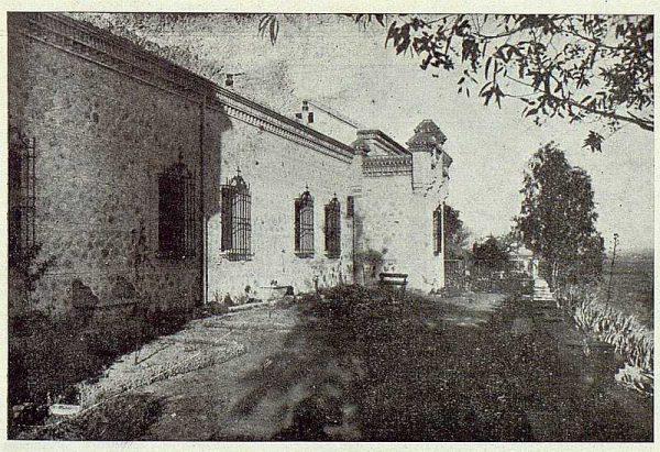 0598_TRA-1924-203-Palacio de Higares de los Duques de la Vega, jardín lateral-Foto Rodríguez