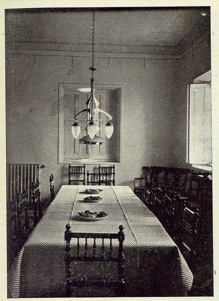 059_TRA-1923-196-Casa Aguanel, de los marqueses de Linares, comedor-Foto Rodríguez