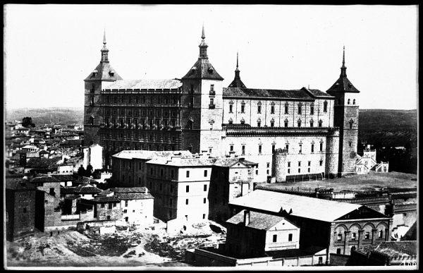06 - 1930 ca - 186_1 - Toledo - Vista del Alcázar