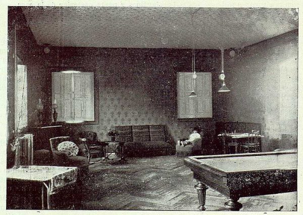 061_TRA-1923-196-Casa Aguanel, de los marqueses de Linares, salón de recreo-Foto Rodríguez