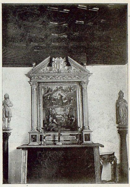 0638_TRA-1925-219-Palacio de Buenavista, detalle de la Capilla-Foto Rodríguez