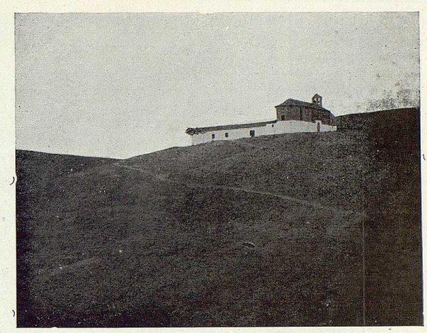 064_TRA-1923-199-Ermita de Nuestra Señora de la Bastida, vista general