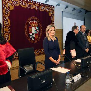 """ilagros Tolón celebra que la UCLM """"dé un paso más en su crecimiento"""" en Toledo con el nuevo grado de Ingeniería Aeroespacial"""