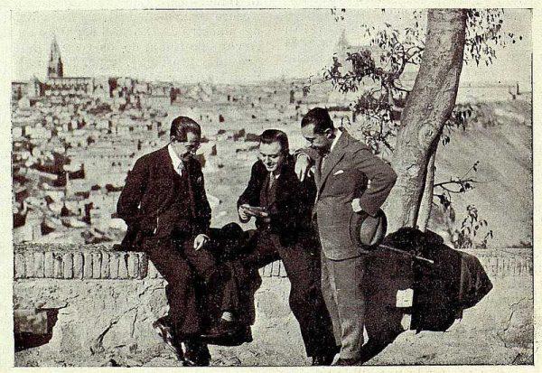 0704_TRA-1927-239-El Huesped del Sevillano, Luca de Tena, Reoyo y el Maestro Guerrero-Foto Rodríguez