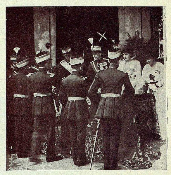 0719_TRA-1927-243-Bodas de Plata en el Trono, acto de entrega de Reales Despachos-Foto Rodríguez