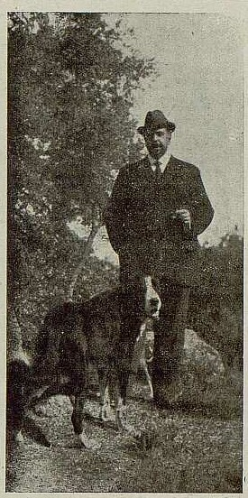 075_TRA-1921-176-Casa de El Bosque, el marqués de la Vega de Retortillo