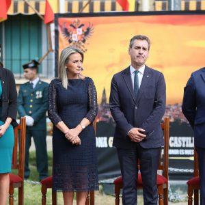 a alcaldesa felicita a todos los españoles y a la Guardia Civil en la Día de la Fiesta Nacional en el que defiende la unidad de España