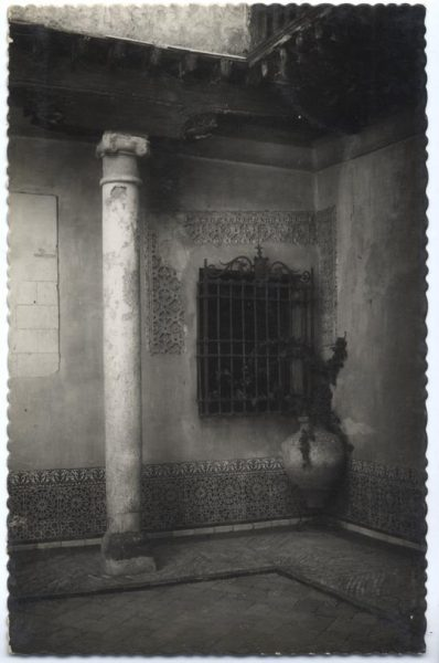 08 - 101 - Toledo - Casa del Greco. Rincón del patio